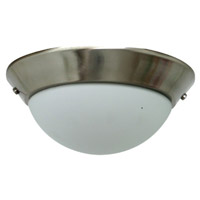 Ellington by Craftmade Signature LED Bowl Light Kit in Brushed Polished Nickel CKD-12BNK-LED