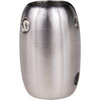 Craftmade COUPLER-BNK Signature Brushed Polished Nickel Fan Downrod Coupler