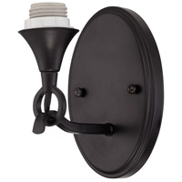Jeremiah by Craftmade Design-A-Fixture 1 Light Wall Sconce Hardware in Matte Black CP1WS-MBK