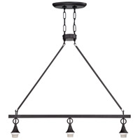 Jeremiah by Craftmade Design-A-Fixture 3 Light Island Light Hardware in Matte Black CP3IL-MBK