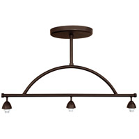 Jeremiah by Craftmade Design-A-Fixture 3 Light Mini Pendant Hardware in Aged Bronze CP8-3JBZ