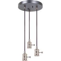 Craftmade CPMKB-3SB Design-a-fixture Satin Brass Mini Pendant Hardware in 3