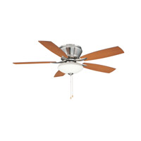 Ellington by Craftmade Brezza 3 Light 52-in Indoor Ceiling Fan in Brushed Nickel CTM52BNK5C