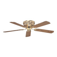 Ellington by Craftmade Close-Up 52-in Indoor Ceiling Fan in Bright Brass CU52BB5