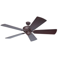 Riata Grande 70 inch Aged Bronze Textured Ceiling Fan Motor Only