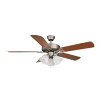 Ellington by Craftmade Builder Deluxe 3 Light 52-in Indoor Ceiling Fan DC in Antique Nickel E-BLD52AN5C3