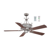 Ellington by Craftmade Del Rey 54-in Indoor Ceiling Fan in Antique Nickel E-DER54AN5CR