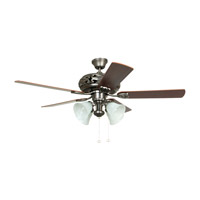 Ellington by Craftmade Grandeur 4 Light 52-in Indoor Ceiling Fan in Antique Nickel E-GD52AN5C