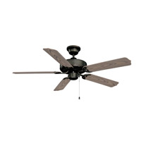 Ellington by Craftmade All-Weather 2 Light Outdoor Ceiling Fan With Blades Included in Aged Bronze WOD52ABZ5C
