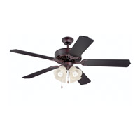 Ellington by Craftmade Pro 204 4 Light 52-inch Ceiling Fan (Blades Sold Separately) in Oiled Bronze E204OB