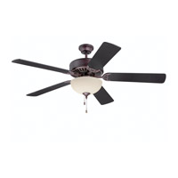 Ellington by Craftmade Pro 208 2 Light 52-inch Ceiling Fan (Blades Sold Separately) in Oiled Bronze E208OB