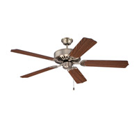 Ellington by Craftmade Pro 52-inch Ceiling Fan Motor Only in Antique Brass E52AB