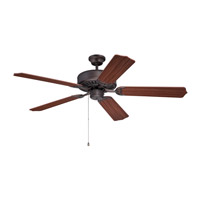 Ellington by Craftmade Pro 52-inch Ceiling Fan Motor Only in Aged Bronze Brushed E52ABZ