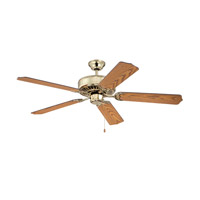 Ellington by Craftmade Pro 52-inch Ceiling Fan Motor Only in Bright Brass and Polished Brass E52PB