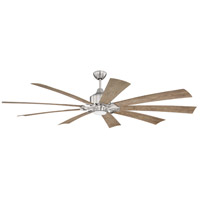 Craftmade EAS70BNK9 Eastwood 70 inch Brushed Polished Nickel with Driftwood Blades Indoor/Outdoor Ceiling Fan