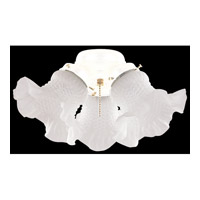 Universal 3 Light Incandescent White Fan Light Kit