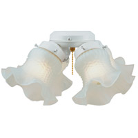 Universal 4 Light Incandescent White Fan Light Kit