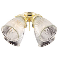 Signature 4 Light Bright Brass Light Kit in Polished Brass