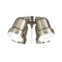 Ellington by Craftmade Universal Fitter 4 Light Light Kit in Brushed Chrome ECX44BC