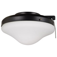 Ellington by Craftmade Outdoor Universal Dome 2 Light Light Kit in Matte Black ELK113-1MBK-W