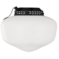 Ellington by Craftmade Schoolhouse Bowl Light Kit in Matte Black ELK1MBK