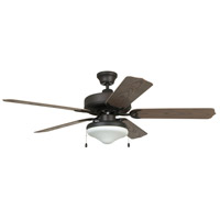 Craftmade END52ABZ5C Enduro 52 inch Aged Bronze Brushed with Weathered Oak Blades Ceiling Fan
