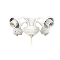 Ellington by Craftmade Universal Fitter 4 Light Light Kit in White EUBE42WW