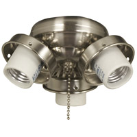 Ellington by Craftmade Universal Fitter 3 Light Light Kit in Galvanized EUC32GV