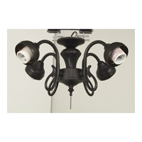 Ellington by Craftmade Universal Fitter 4 Light Light Kit in Aged Bronze EUND42ABZ