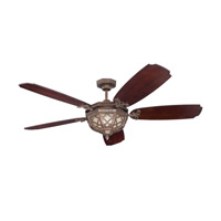 Craftmade Evangeline 3 Light 54-inch Ceiling Fan (Blades Sold Separately) in Peruvian Bronze EVA54PR