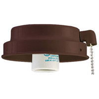 Ellington by Craftmade Outdoor Universal Fitter 1 Light Light Kit in Copperstone EX14CS-W