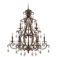 Craftmade 25629-FR Englewood 9 Light 35 inch French Roast Chandelier Ceiling Light alternative photo thumbnail