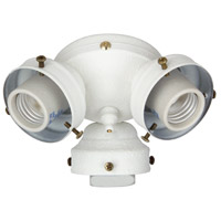 Universal LED White Fan Light Fitter, Shades Sold Separately