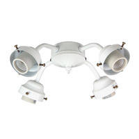Craftmade Universal Fitter 4 Light Light Kit in White F400CFL-W