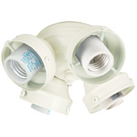 Universal LED White Fan Light Fitter