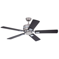 Craftmade 5th Avenue 1 Light 52-in Indoor Ceiling Fan in Brushed Nickel and Chrome FA52BN5