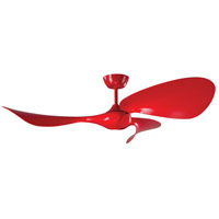Fluid 54 inch Lazer Red Ceiling Fan