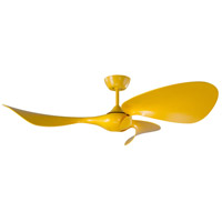 Craftmade FLD54YL3 Fluid 54 inch Cyber Yellow Ceiling Fan