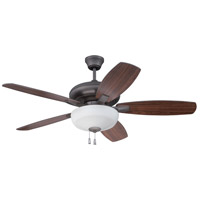Craftmade FZA52ESP5C1 Forza 52 inch Espresso with Reversible Espresso and Walnut Blades Ceiling Fan, Blades Included