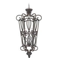 Craftmade 25236-MB Highland Place 6 Light 28 inch Mocha Bronze Foyer Light Ceiling Light, Cage alternative photo thumbnail