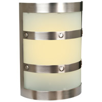 Craftmade Teiber Half Cylinder LED Illuminated Door Chime in Pewter with Frosted White Glass ICH1405-PT