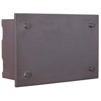 Craftmade Teiber Industrial Rectangle LED Illuminated Door Chime in Aged Iron ICH1600-AI