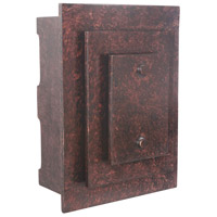 Craftmade Teiber Tiered Rectangles LED Illuminated Door Chime in Peruvian Bronze ICH1615-PR