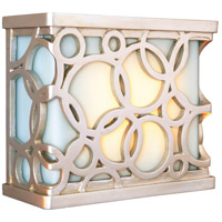 Craftmade Teiber Hand Carved Circular Design LED Illuminated Door Chime in Brushed Nickel with Frosted Glass ICH1620-BN