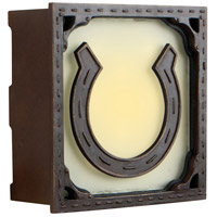 Craftmade Teiber Horseshoe LED Illuminated Door Chime in Aged Bronze ICH1640-AG