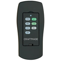 Craftmade CV-ICS-AG Cordova Aged Bronze Textured ICS Control System, Wall and Remote