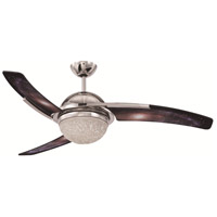 Craftmade JU54GLX3-LED Juna 54 inch Polished Nickel with Galaxy Blades Ceiling Fan in LED