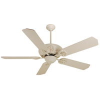 Craftmade K10102 Cordova 52 inch Antique White Ceiling Fan Kit in Standard Antique White, Blades Included