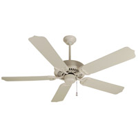 Craftmade K10172 Porch 52 inch Antique White Outdoor Ceiling Fan Kit in Outdoor Standard Antique White, 52