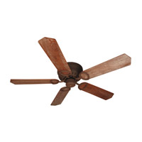 Pro Universal Hugger 52 inch Rustic Iron with Washed Walnut Birch Blades Ceiling Fan With Blades Included in Contractor Standard, Light Kit Sold Separately